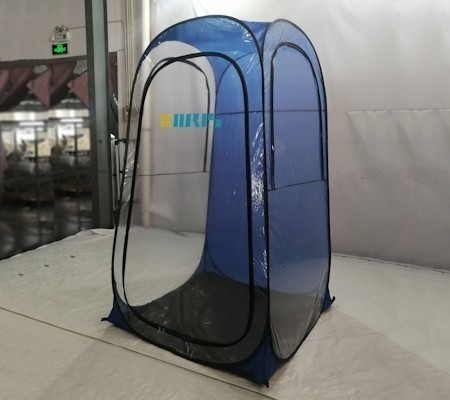 Tent for salt therapy