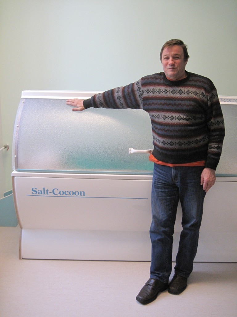 Founder of IIRIS salt therapy